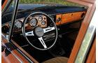 Triumph Dolomite Sprint, Cockpit, Lenkrad