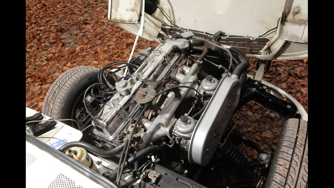 Triumph GT6, Haube