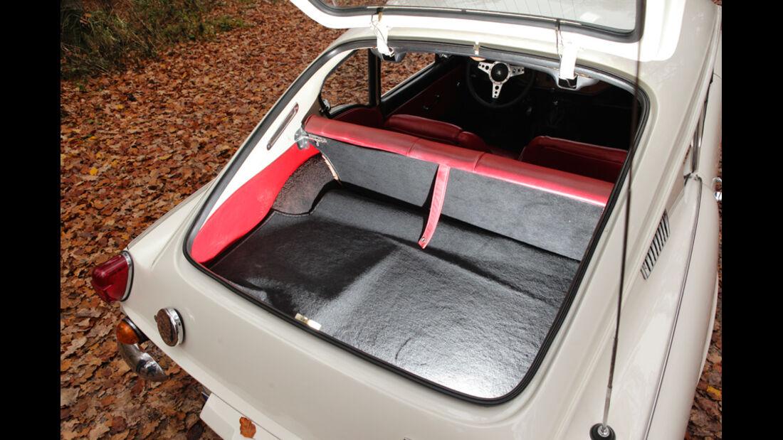 Triumph GT6, Kofferraum