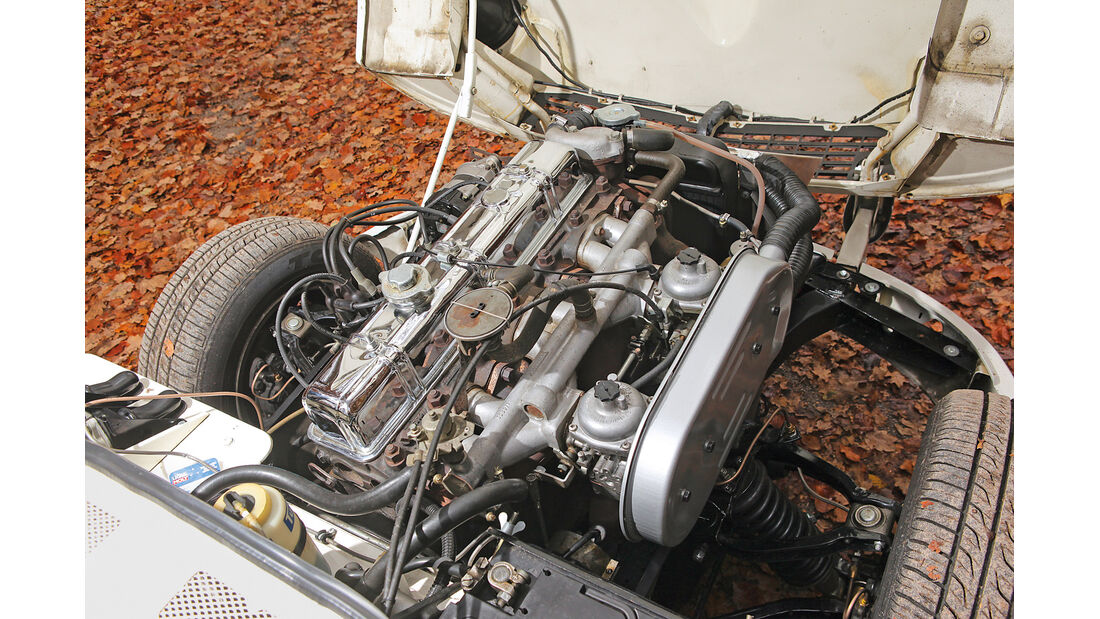 Triumph GT6, Motor