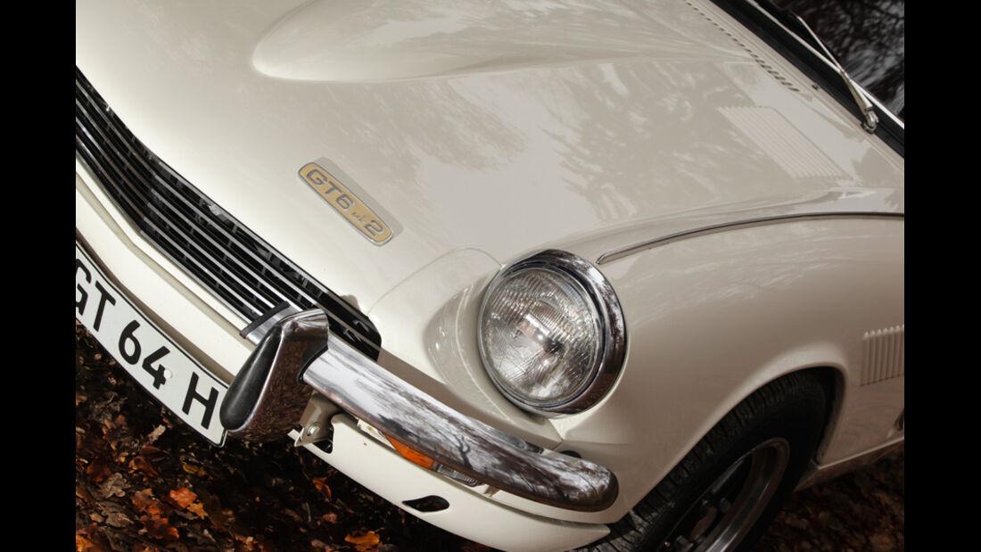 Triumph GT6, Motorhaube