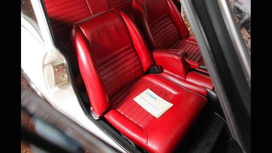 Triumph GT6, Rücksitze