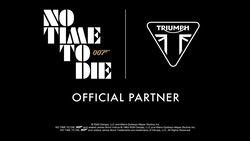 Triumph James Bond Filmmotorräder