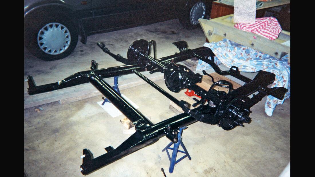 Triumph Roadster 2000, Rahmen