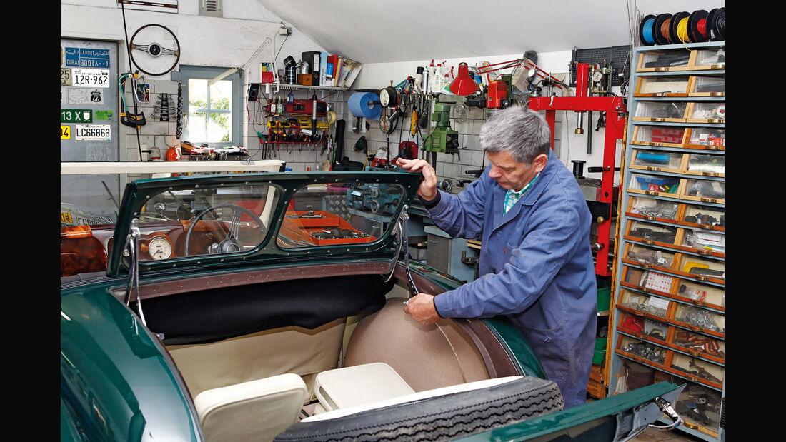Triumph Roadster 2000, Rücksitz, Notsitze