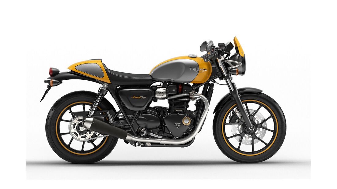 Triumph Speed Cup Yellow