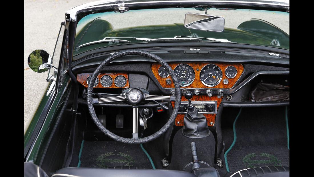 Triumph Spitfire, Cockpit