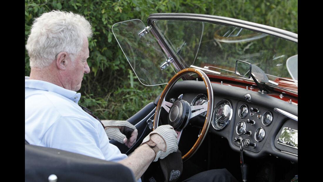 Triumph TR 3, Cockpit, Martin Kürten