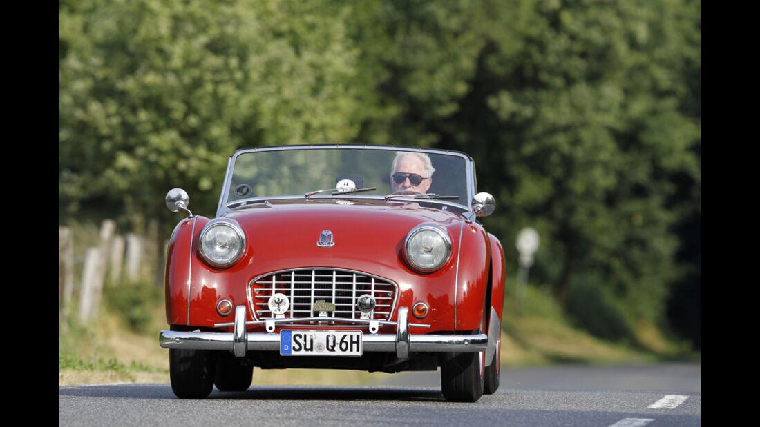 Triumph TR 3, Front
