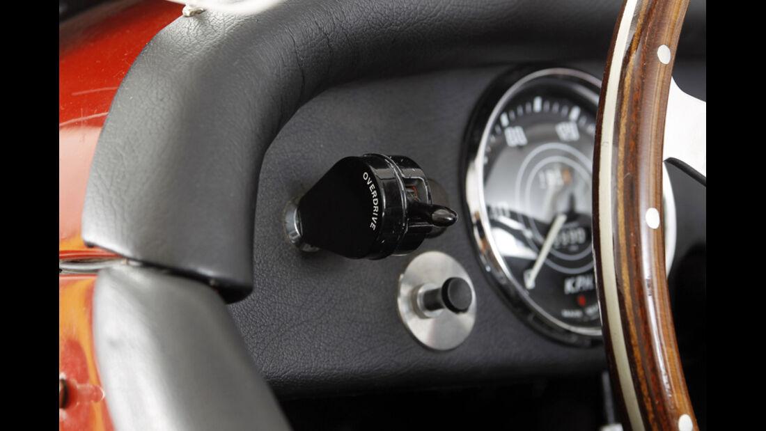 Triumph TR 3, Overdrive, Detail