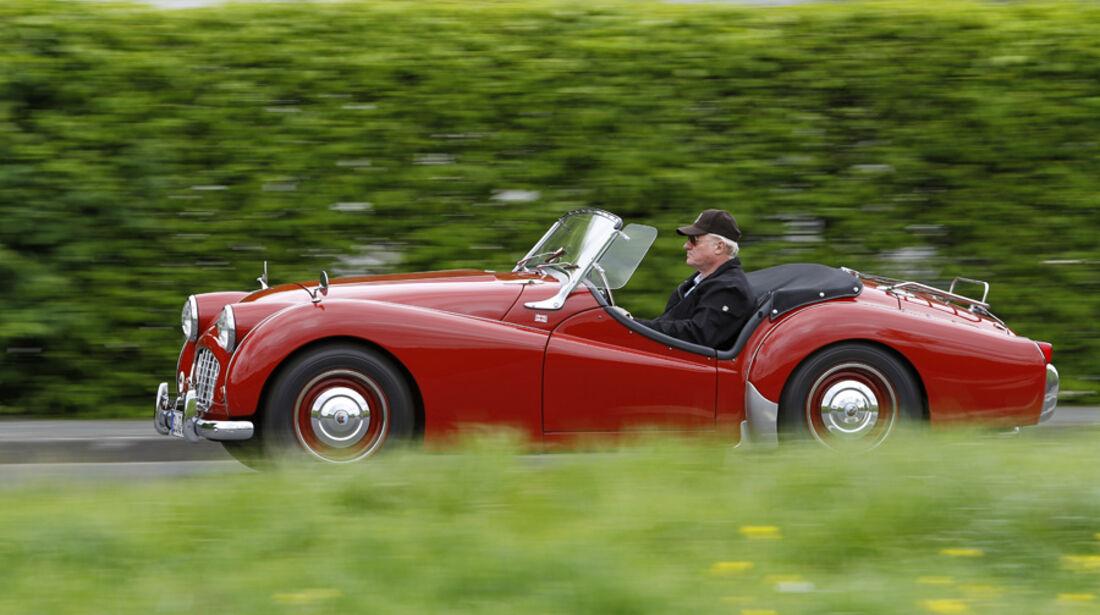 Triumph TR 3, Seitenansicht