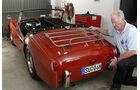 Triumph TR 3, in der Garage, Martin Kürten