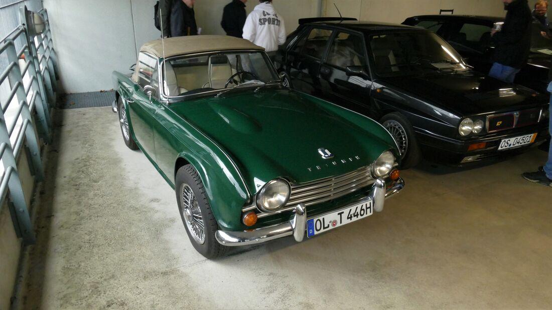 Triumph TR 4 auf der Bremen Classic Motorshow 2020