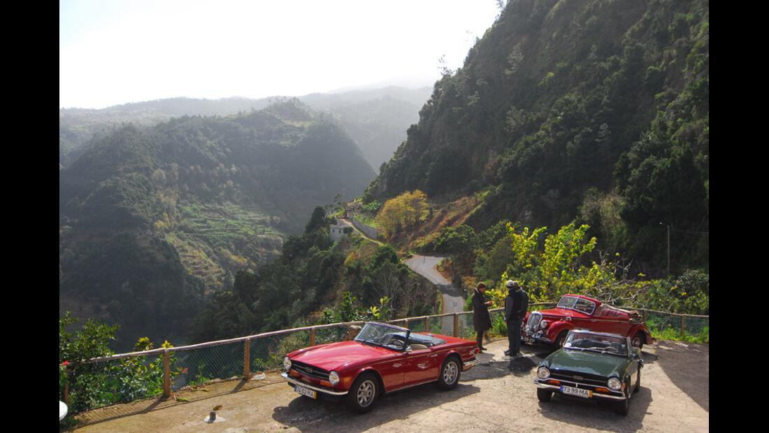 Triumph TR 6, Frontansicht, Madeira