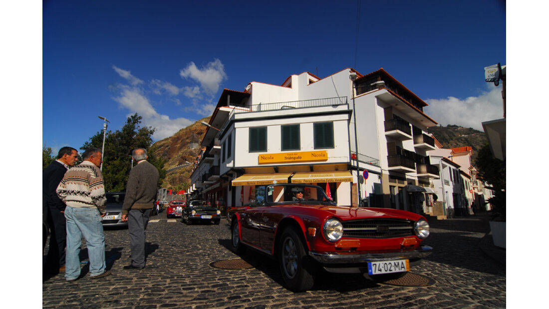 Triumph TR 6, Ponta do Sol