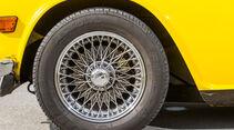 Triumph TR 6, Rad, Felge, Speichenrad