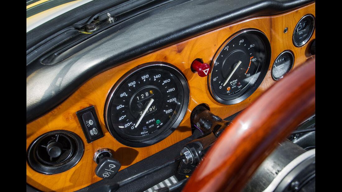 Triumph TR 6, Rundinstrumente