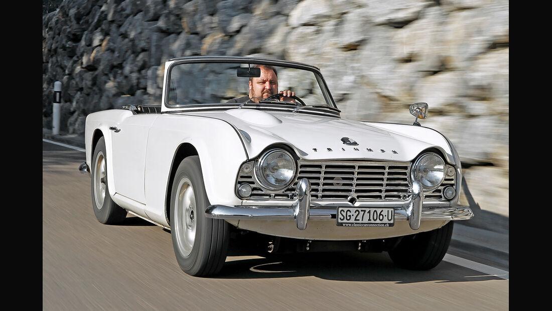 Triumph TR4, Frontansicht