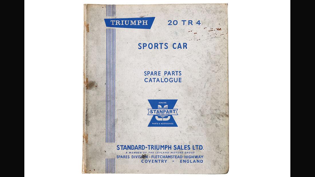 Triumph TR4, Handbuch