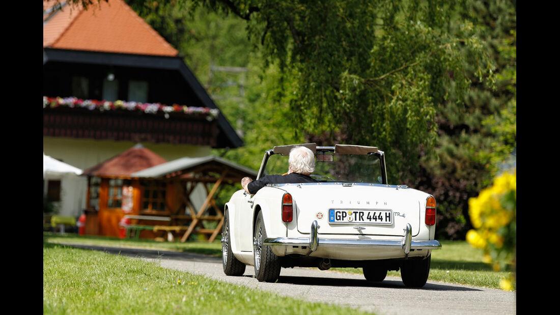 Triumph TR4, Heckansicht