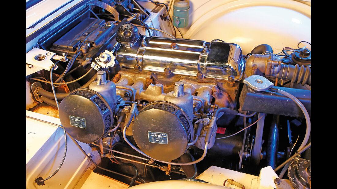Triumph TR4, Motor
