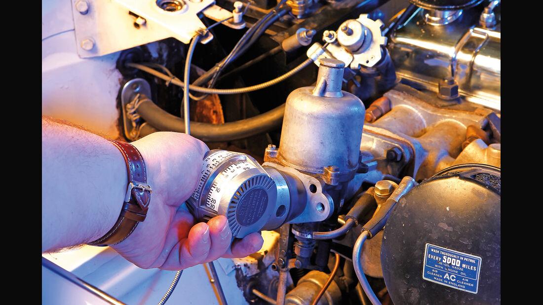 Triumph TR4, SU-Vergaser