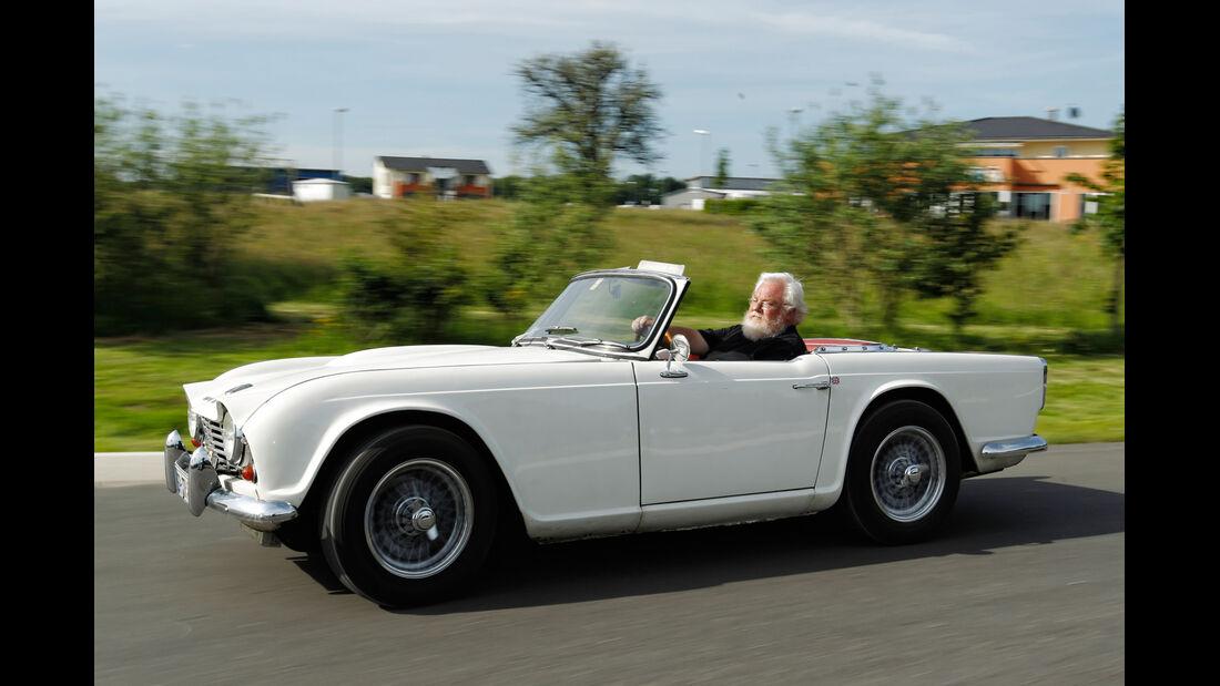 Triumph TR4, Seitenansicht