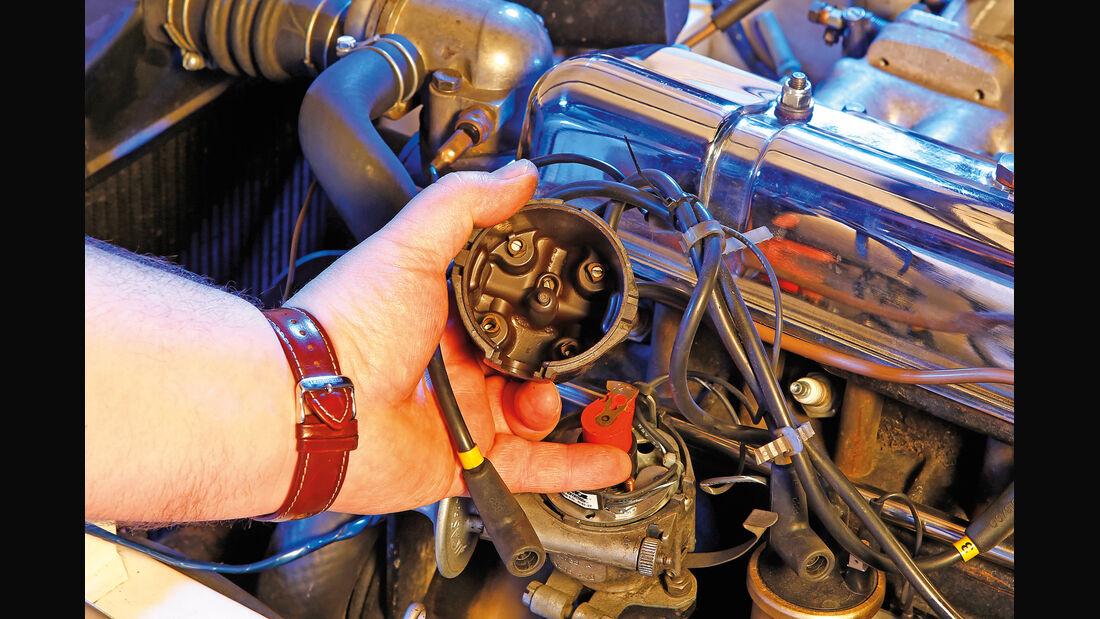 Triumph TR4, Zündung