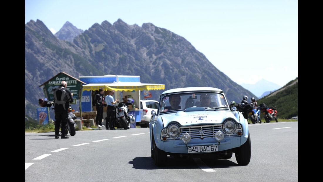 Triumph TR5 - Silvretta Classic 2010