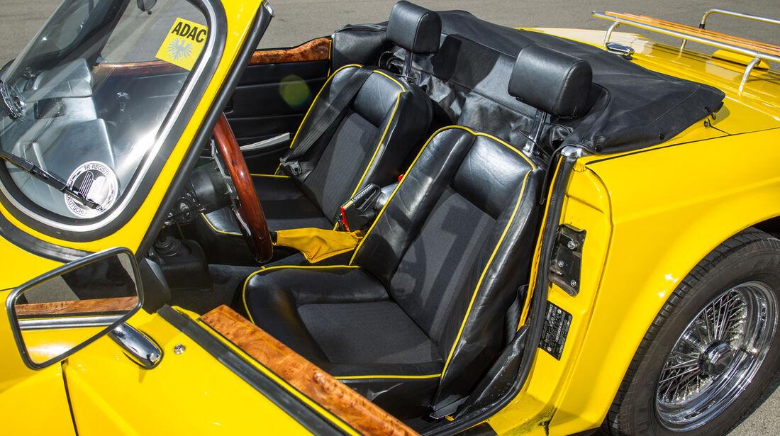 Triumph TR6, Fahrersitz