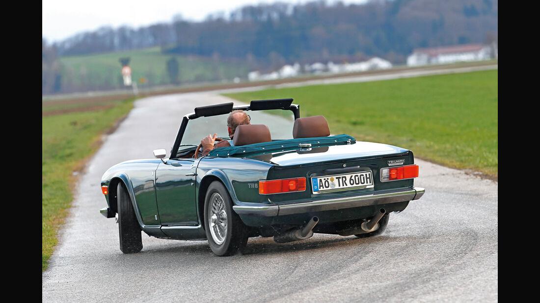 Triumph TR6, Heckansicht