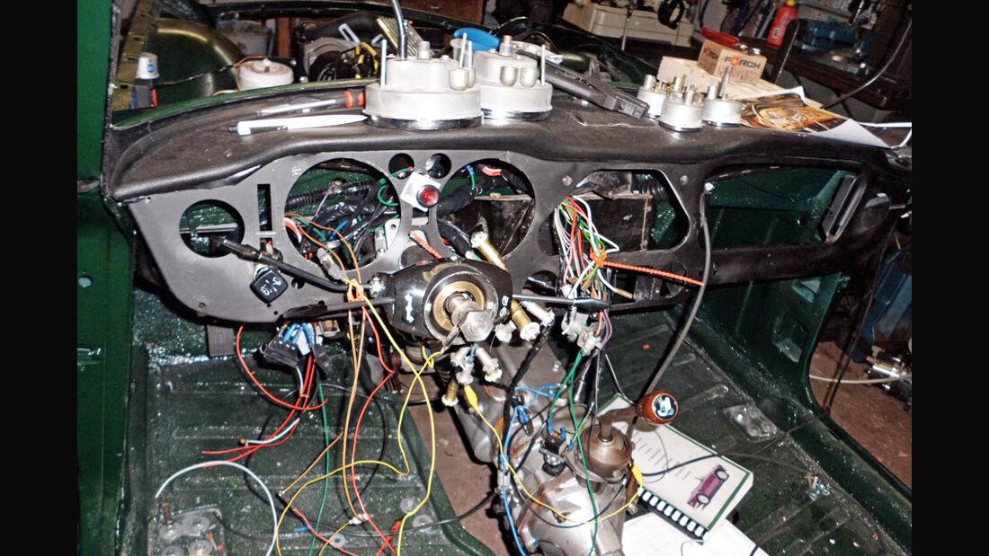 Triumph TR6, Kabel