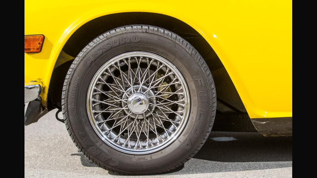 Triumph TR6, Rad, Felge