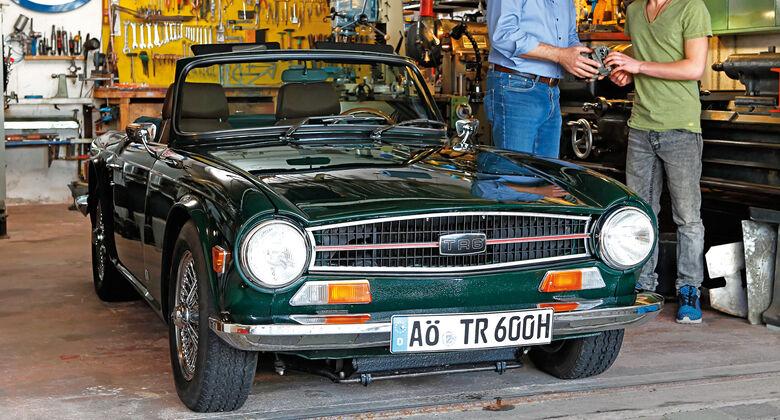 Triumph TR6, Roland Gerich