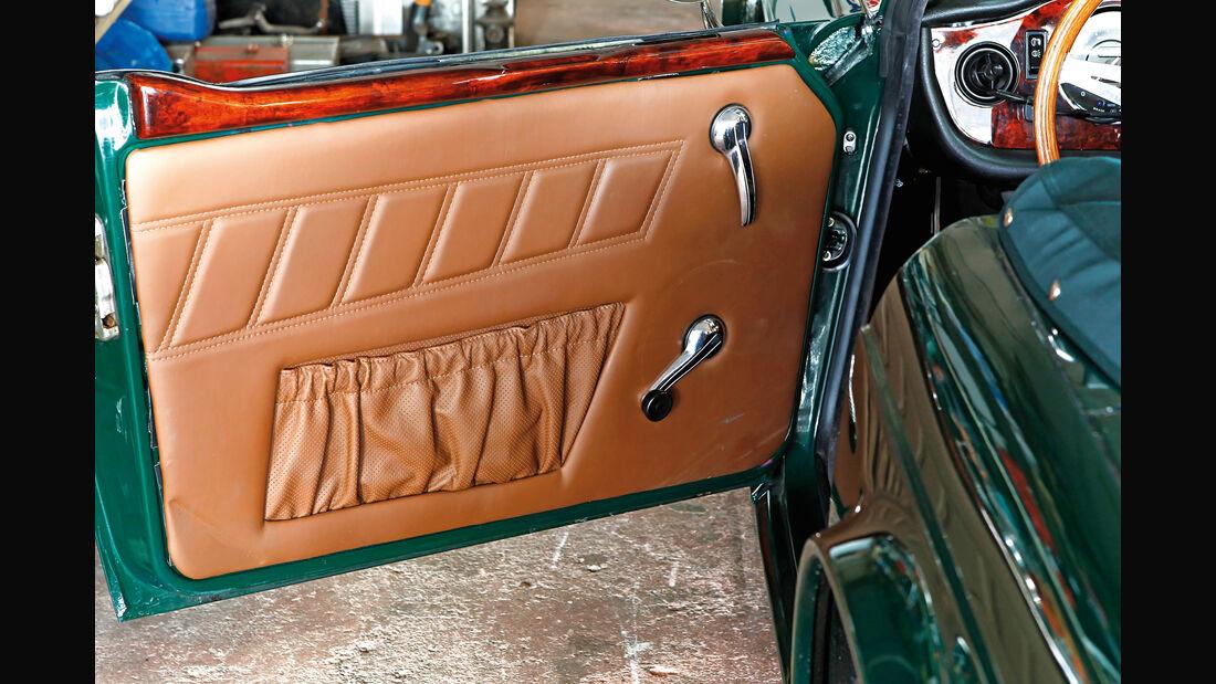 Triumph TR6, Türverkleidung