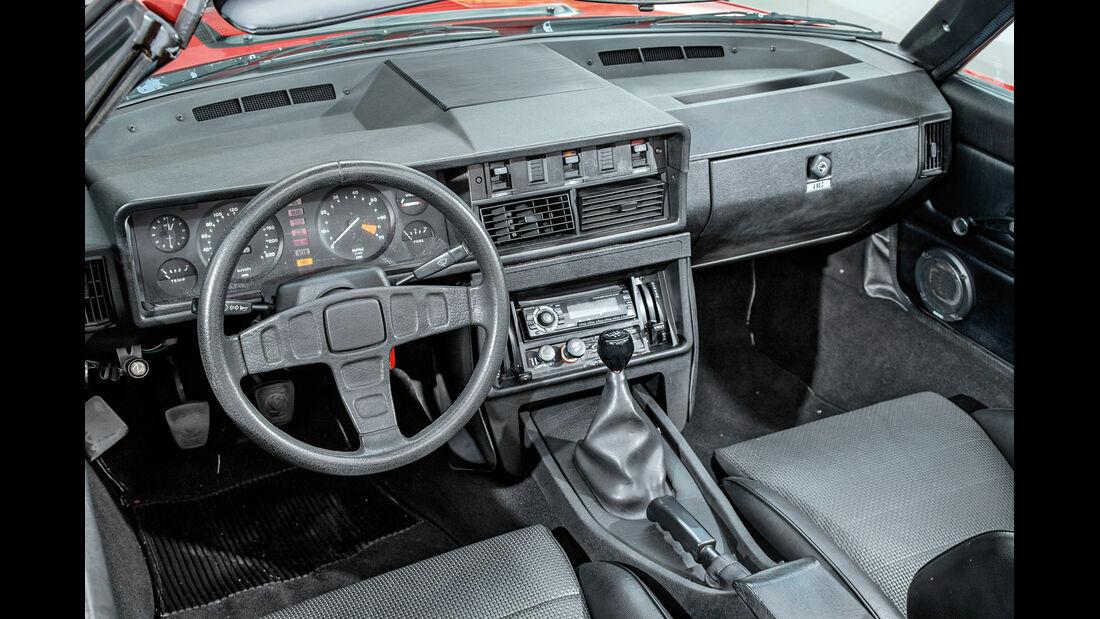 Triumph TR7 Cabrio, Cockpit