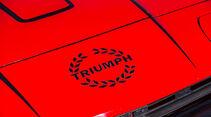 Triumph TR7 Cabrio, Emblem