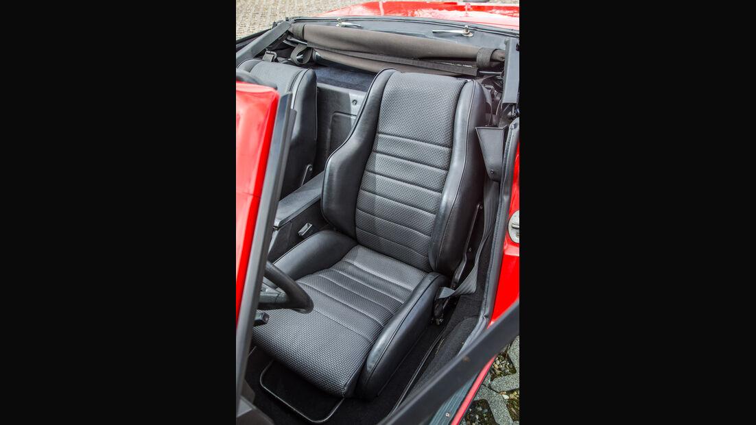 Triumph TR7 Cabrio, Fahrersitz