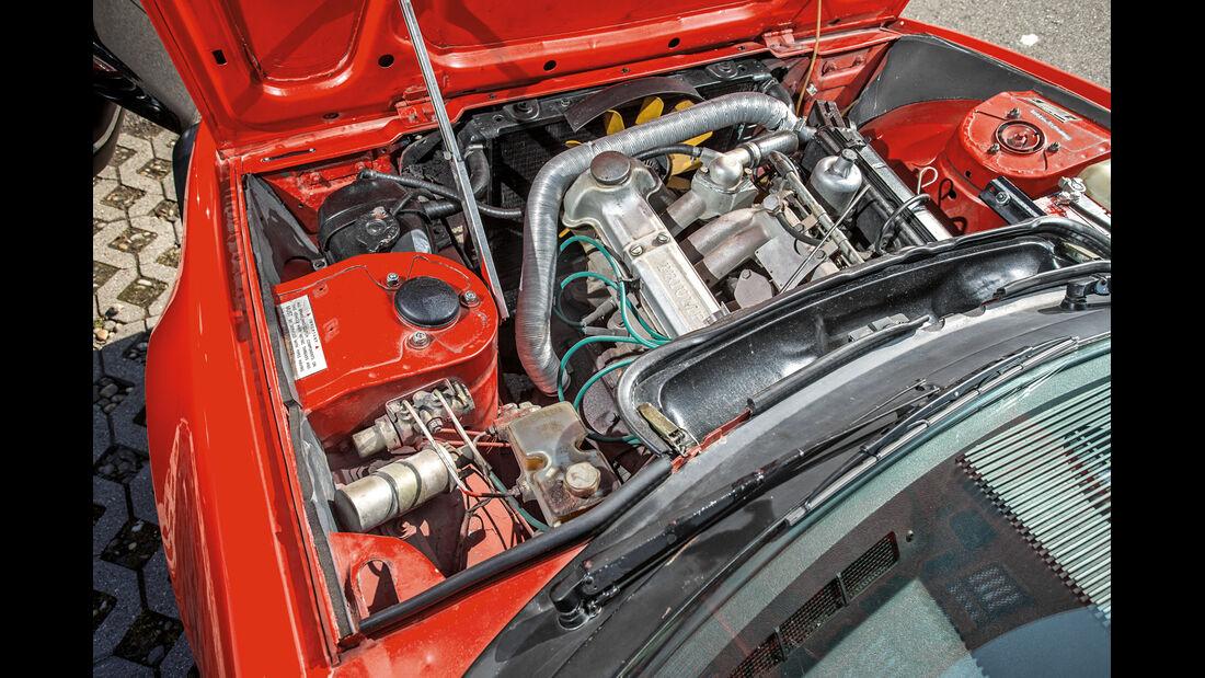 Triumph TR7 Cabrio, Motor