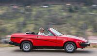 Triumph TR7 Cabrio, Seitenansicht