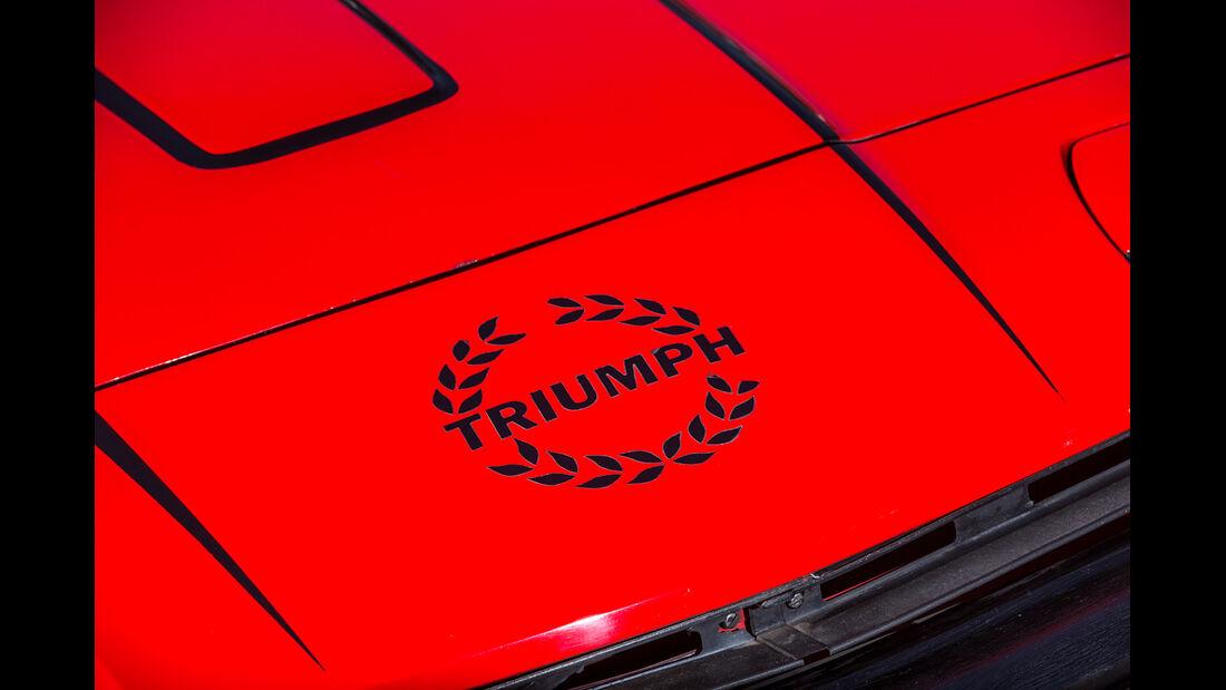 Triumph TR7 Drophead Coupé, Emblem