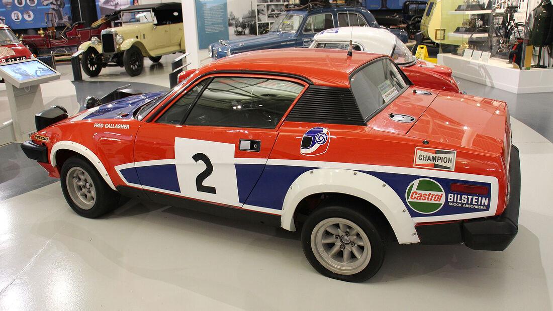 Triumph TR7 V8 Rally Car im British Motor Museum