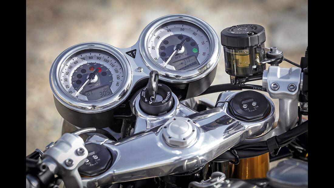 Triumph Thruxton 1200 R, Impression, Motorrad