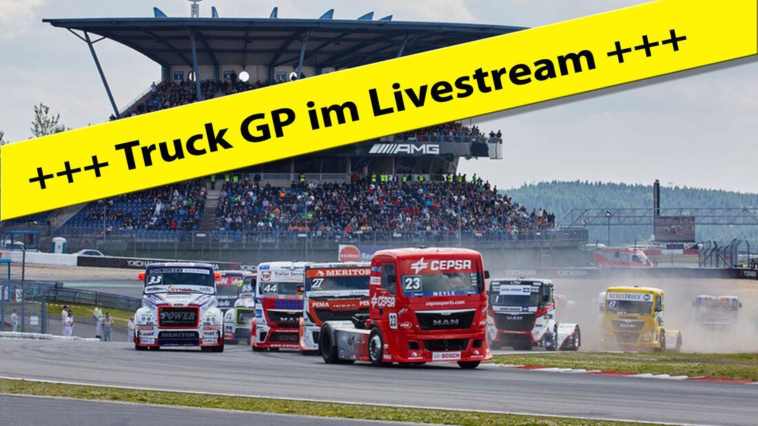 Truck GP - Livestream - Nürburgring 2017