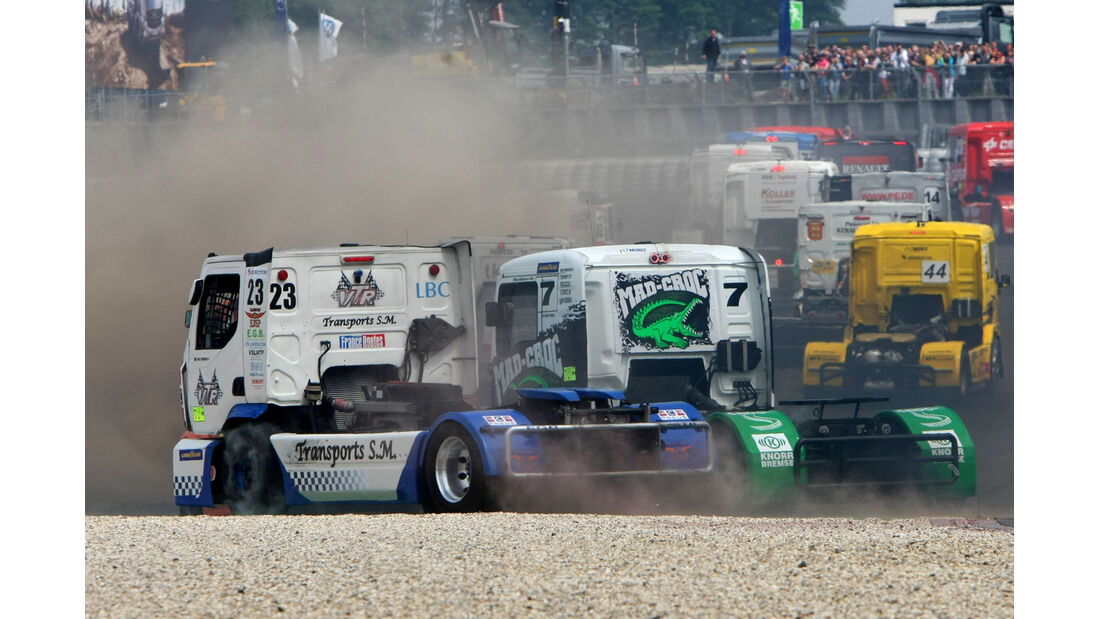 Truck GP - Nürburgring - Crash - 2013