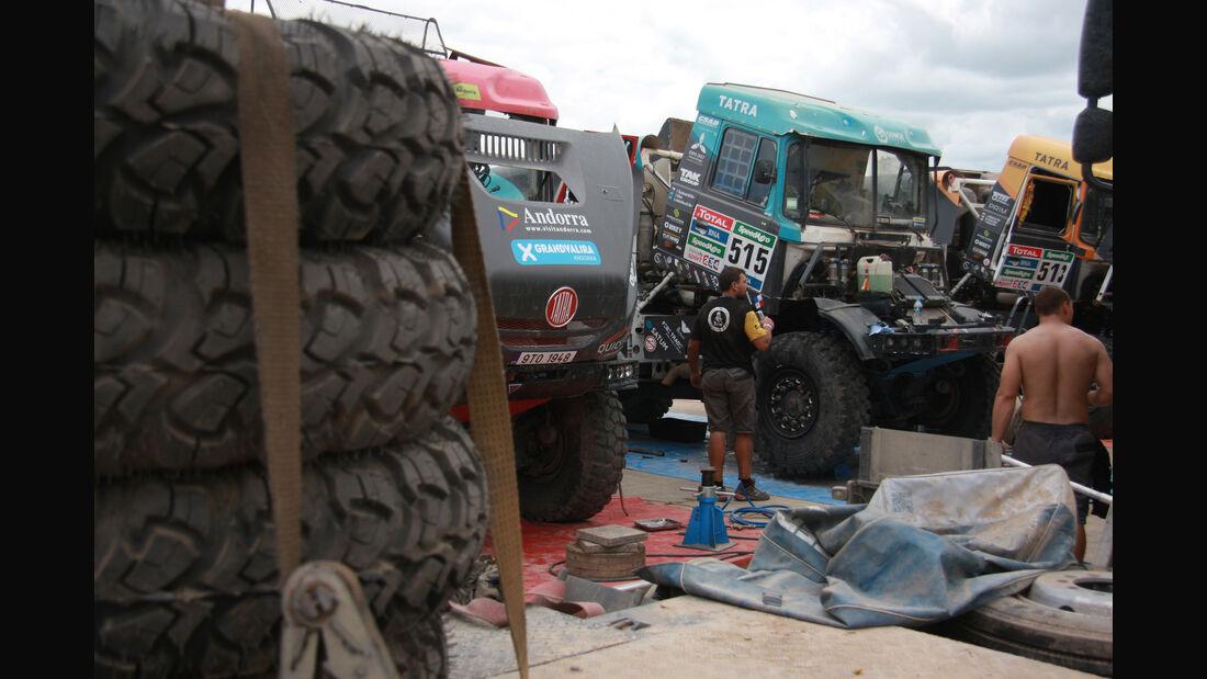 Trucks - Rallye Dakar 2016