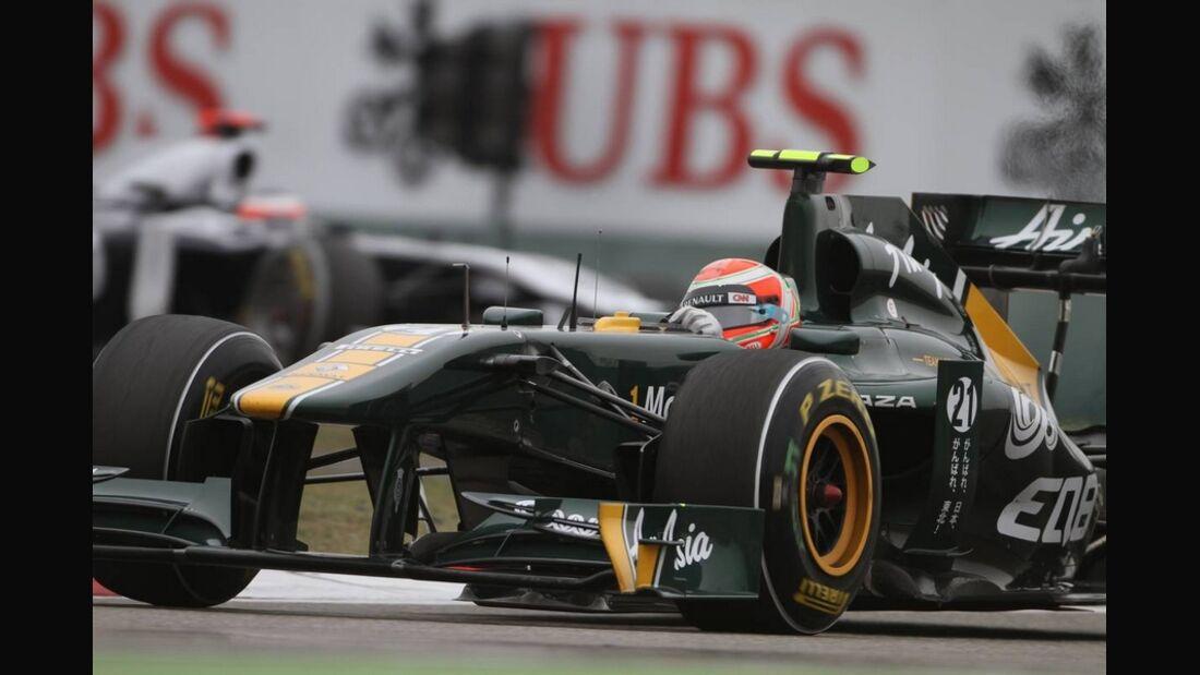 Trulli Formel 1 GP China 2011