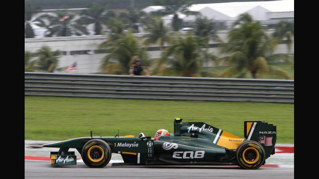 Trulli GP Malaysia 2011 Formel 1