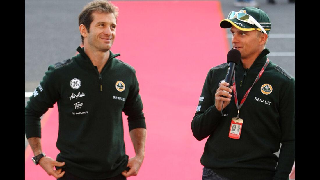 Trulli & Kovalainen - GP Japan - Suzuka - 6. Oktober 2011