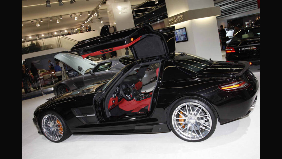 Tuner Brabus Mercedes SLS IAA